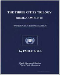 The Three Cities Trilogy : Rome by Zola, Émile