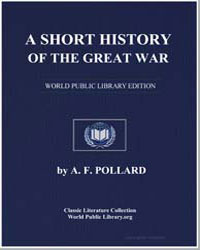 A Short History of the Great War by Pollard, A. F.