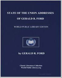 State of the Union Addresses of Gerald R... by Ford, Gerald R., Honorable