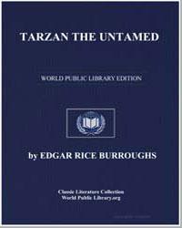 Tarzan the Untamed by Burroughs, Edgar Rice