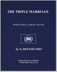 The Triple Marriage by Morlock, Frank J.