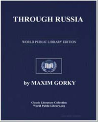 Through Russia by Gorky, Maxim