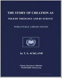 The Story of Creation as Told by Theolog... by Ackland, T. S.