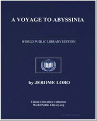 A Voyage to Abyssinia by Lobo, Father Jerome