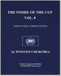 The inside of the Cup, Volume 8 by Churchill, Winston, Sir