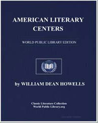 American Literary Centers by Howells, William Dean, Editor