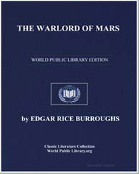 The Warlord of Mars by Burroughs, Edgar Rice