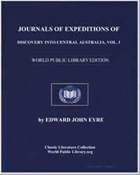 Journals of Expeditions of Discovery int... by Eyre, Edward John