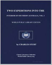 Two Expeditions into the Interior of Sou... by Sturt, Charles