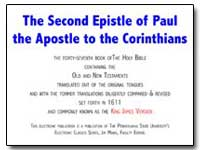 The Second Epistle of Paulthe Apostle to... by Various