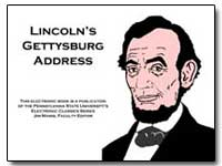 Lincoln's Gettysburg Address by Lincoln, Abraham