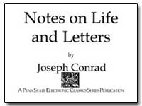 Notes on Life and Letters by Conrad, Joseph