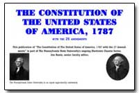 The Constitution of the United St States... by Anonymous