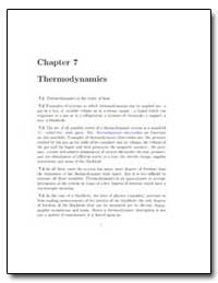 Thermodynamics of Magnetic Systems by
