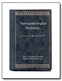 Norwegian to English Dictionary by World Public Library