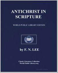 Antichrist in Scripture by Lee, Francis Nigel, Dr.