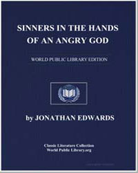 Sinners in the Hands of an Angry God by Edwards, Jonathan