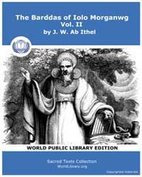 The Barddas of Iolo Morganwg, Vol. II Volume Vol. II by Ab Ithel, J. W.