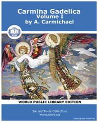Carmina Gadelica, Volume I by Carmichael, A.