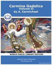 Carmina Gadelica, Volume II by Carmichael, A.