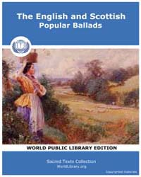 The English and Scottish Popular Ballads by Child, Francis James