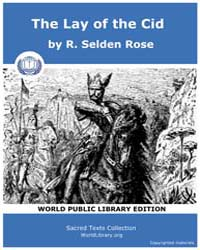 The Lay of the Cid by Selden Rose, R.