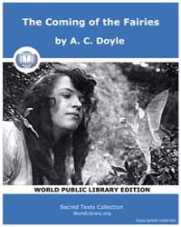 The Coming of the Fairies by Doyle, A. C.