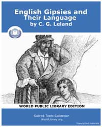English Gipsies and Their Language by Leland, C. G.
