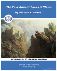 The Four Ancient Books of Wales by Skene, William F.