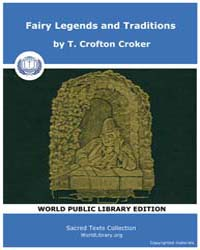 Fairy Legends and Traditions by Croker, T. Crofton