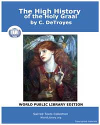 The High History of the Holy Graal by DeTroyes, C.