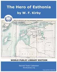 The Hero of Esthonia Volume Vol. I by Kir, W. F.