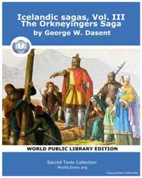 Icelandic sagas, Vol. III, The Orkneying... Volume Vol. III by Dasent, George W.