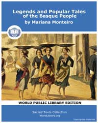 Legends and Popular Tales of the Basque ... by Monteiro, Mariana