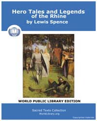 Hero Tales and Legends of the Rhine by Spence, Lewis