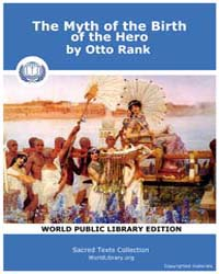 The Myth of the Birth of the Hero by Rank, Otto