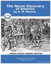 The Norse Discovery of America by Reeves, A. M.