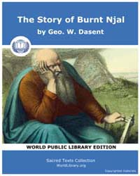 The Story of Burnt Njal by Dasent, Geo. W.