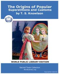 The Origins of Popular Supersitions and ... by Knowlson, T. S.