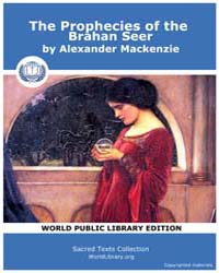 The Prophecies of the Brahan Seer by Mackenzie, Alexander