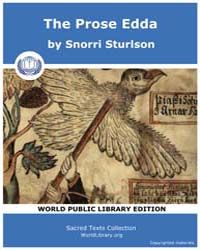 The Prose Edda by Sturlson, Snorri