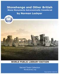 Stonehenge and other British Stone Monum... by Lockyer, Norman