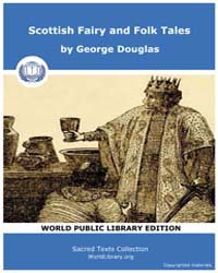 Scottish Fairy and Folk Tales by Douglas, George