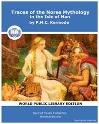 Traces of the Norse Mythology in the Isl... by Kermode, P. M. C.