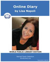 Online Diary by Napoli, Lisa