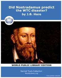 Did Nostradamus predict the WTC disaster... by Hare, J.B.