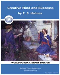 Creative Mind and Successa by Holmes, E. S.