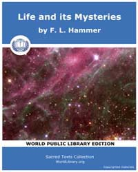 Life and its Mysteries by Hammer, F. L.
