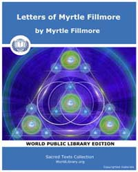 Letters of Myrtle Fillmore by Fillmore, Myrtle