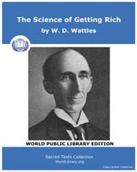 The Science of Getting Rich by Wattles, W. D.